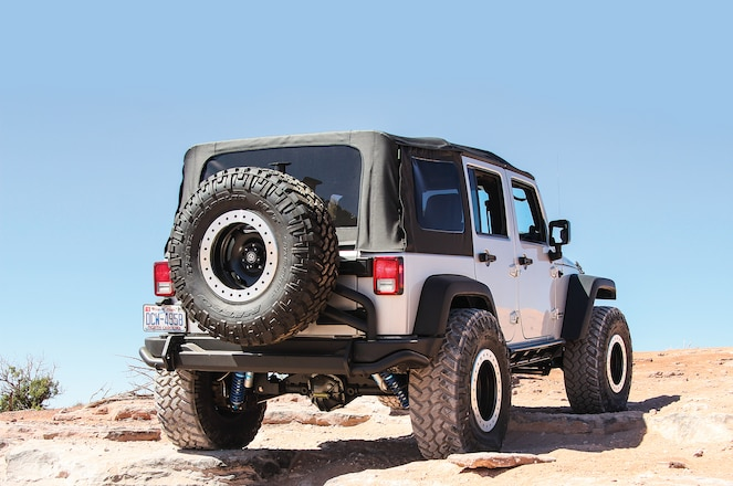 AEV's Rear Bumper and Tire Carrier Install