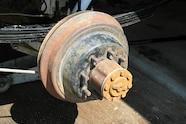 eight lug full floating rear axle wheel hub dana 60 JPG