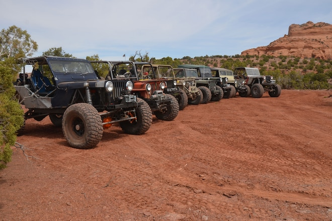 Flatfenders Wheeling in Moab Gallery