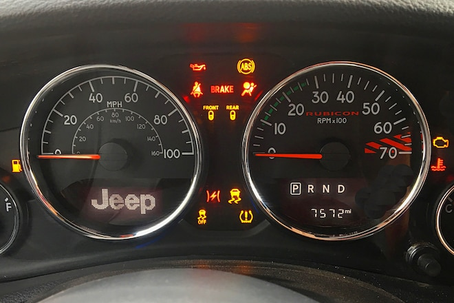 Jeep JK Dash Warning Lights: What They Mean