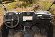 Swapping from 2wd, 4wd and 4wd/Locked is easy with the dash
