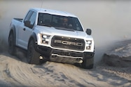 2017 ford f 150 raptor high speed sand