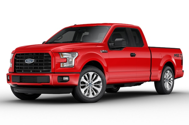 Ford Introduces Value-Packed STX Trim on 2017 F-150, Super Duty
