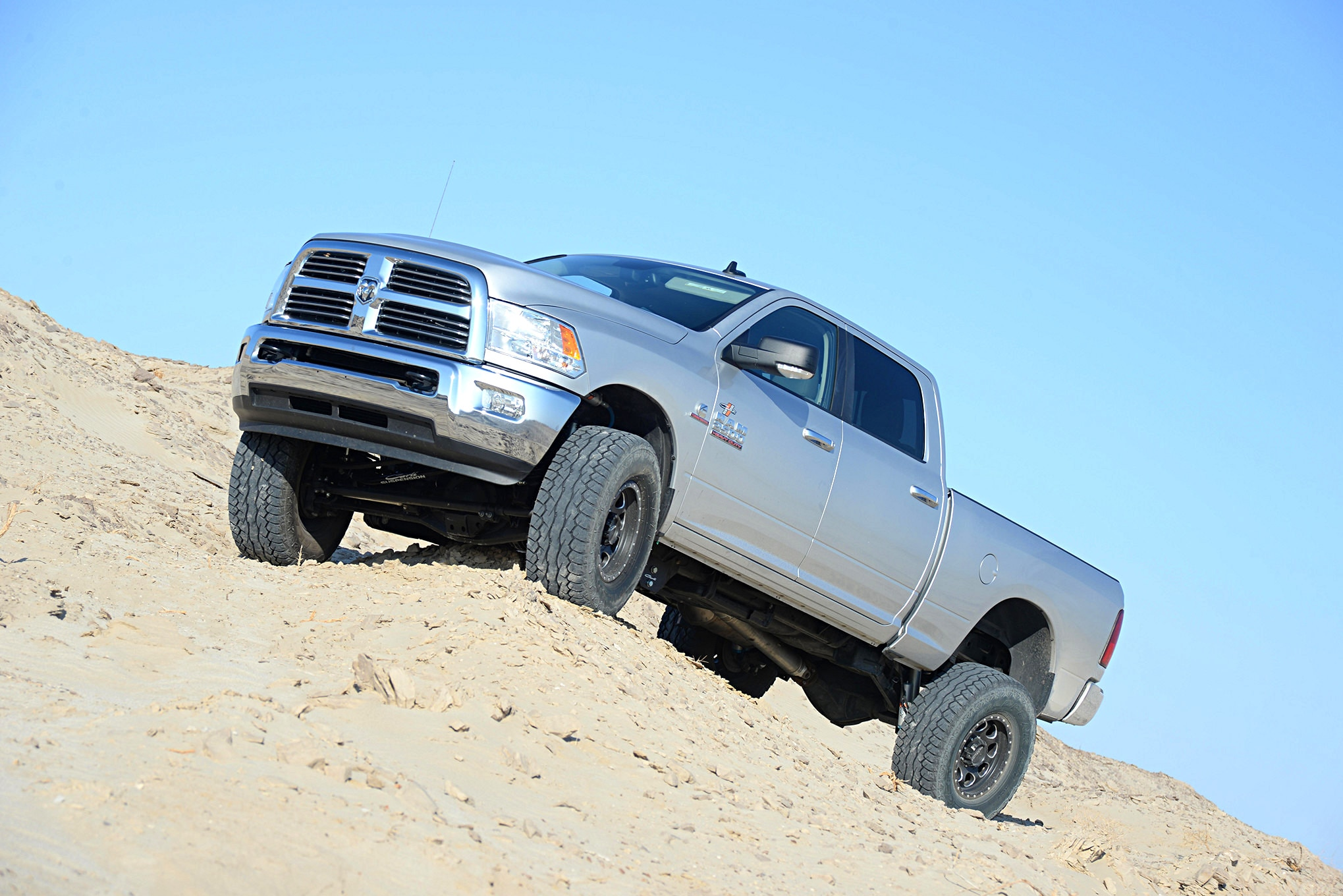 2014 Ram Cummins 2500 Suspension Review: Carli Pintop 2.5 Lift System