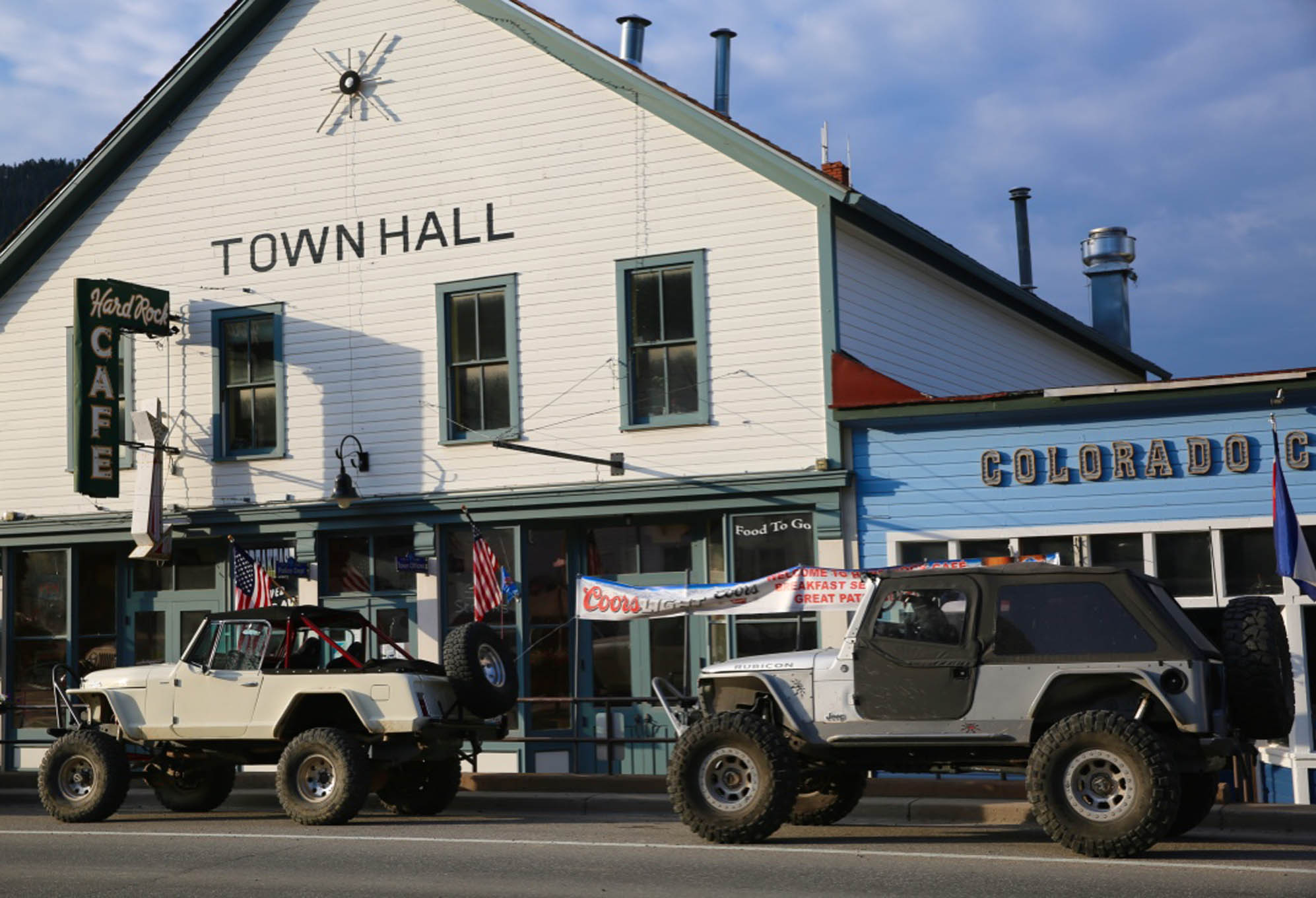 Downtown Empire is a two Jeep town.