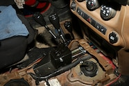 013 transfer case shifter mounting