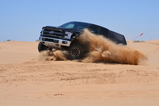 2017 Ford Raptor Completes 1,028 Miles of Desert Durability Testing