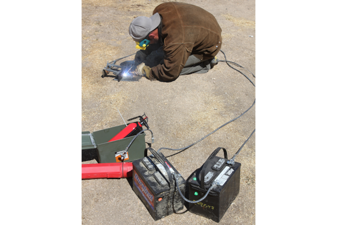 Welding Tools for on the Trail