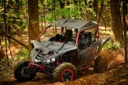 2017 yamaha yxz1000r ss red forest action