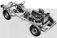 Toyota BJ chassis and powertrain