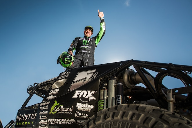 Shannon Campbell Wins 2017 Nitto King of The Hammers