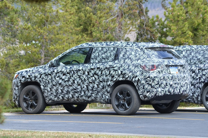 2017 Jeep Compass Spied Testing In Colorado
