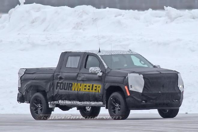 Spied! 2019 Chevrolet Silverado Winter Testing