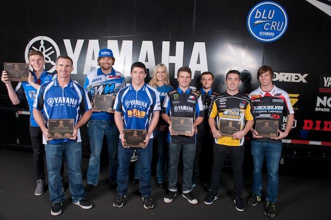 2016 Yamaha Wall of Champions Inductee Ceremony
