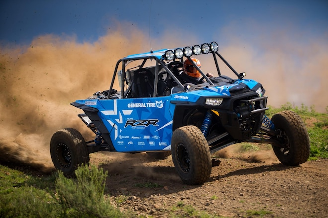 Tanner Foust to Drive Polaris RZR in Mint 400