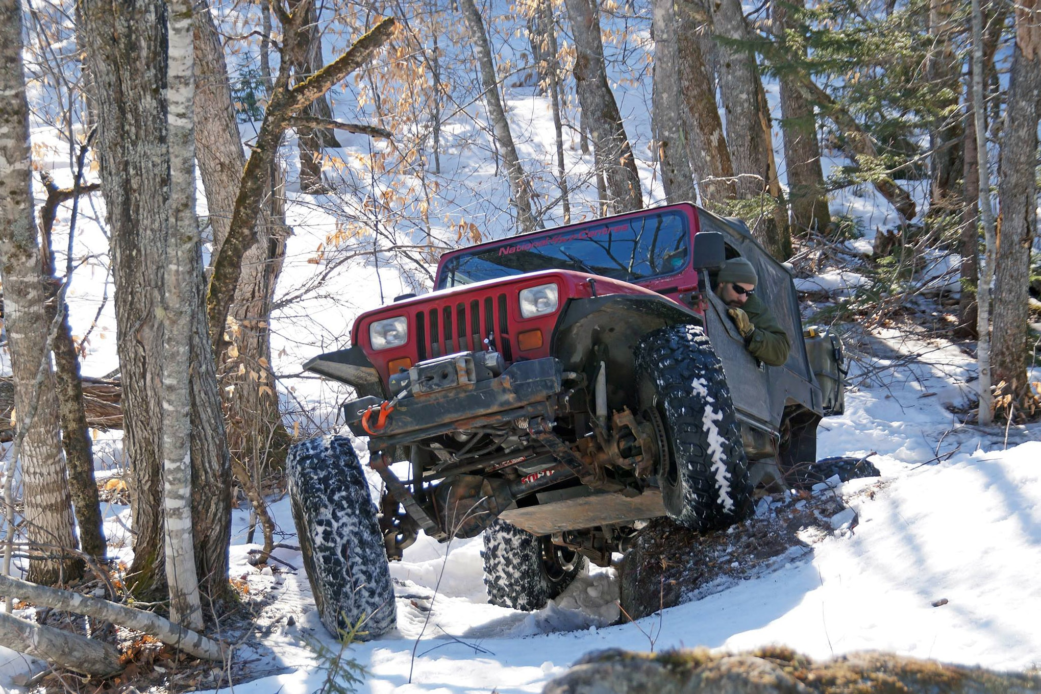 Jeep Shots 1994 Jeep Wrangler Yj Snow Photo 130316964