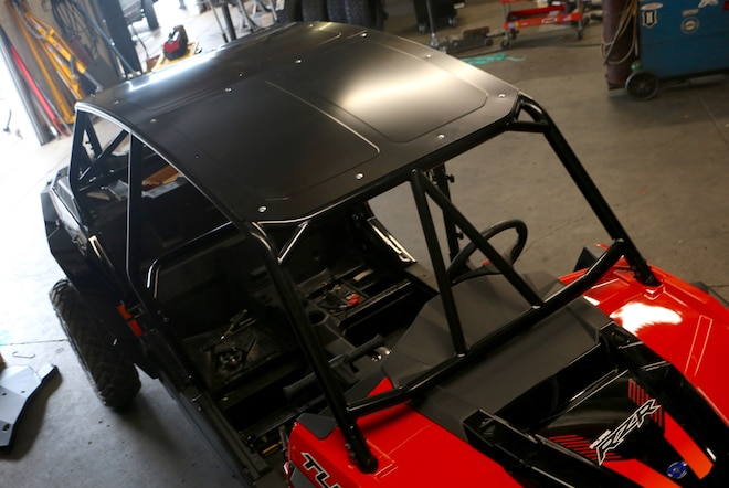 Polaris XP4 1000 Gets A CageWrx Race Cage