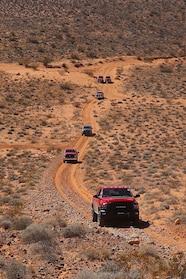 011 ram power wagon goodyear warn logandale trails uphill wide shot.JPG
