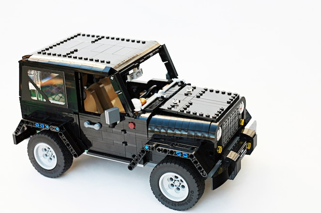Show Your Support for This Awesome Lego Jeep Wrangler Rubicon!