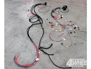 it's recommended that the wiring harness is laid out next to the jeep so  the
