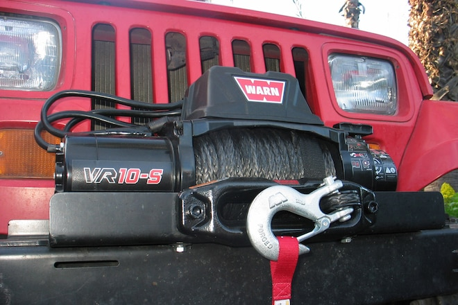 Warn VR10-s Winch installation How To