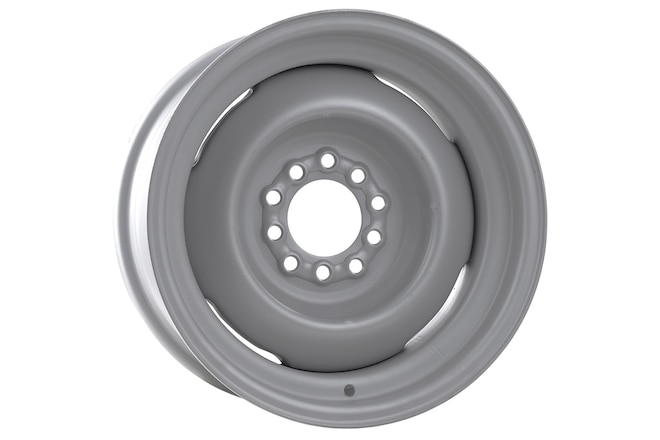 Nuts & Bolts: Stock-Looking Steelies for Chevy M1009