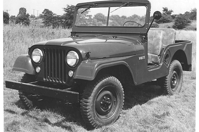 Uncensored Jeep Nudity: The First Stripped CJ-5 Chassis