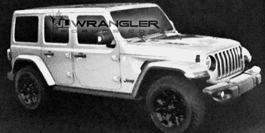 JL Jeep Wrangler Possibly Leaked in Forum