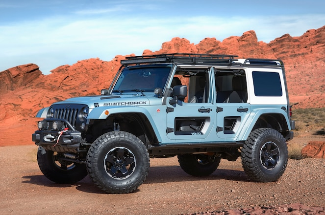 Jeep Reveals Grand Cherokee, Wrangler, Compass Concepts for 2017 Easter Jeep Safari