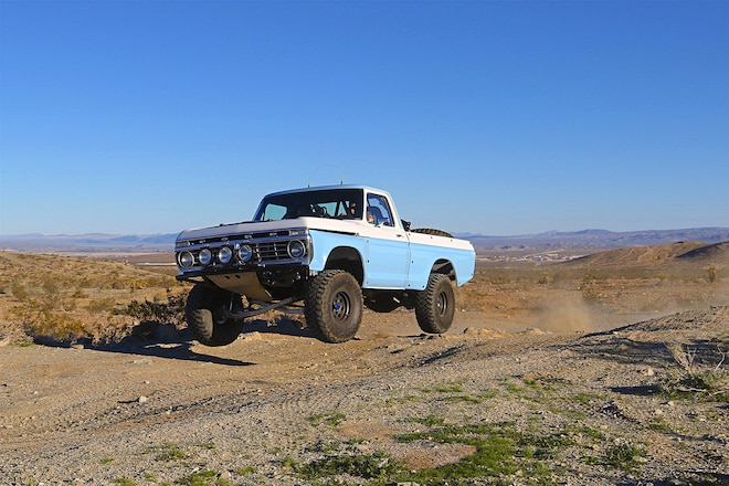 F-100 Desert-Ready Hot Rod