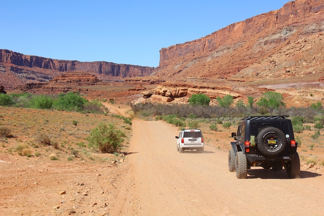 """The Easiest """"Trail"""" In Moab: Because Some People Want Easy"""