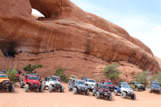 2017 Easter Jeep Safari Day 4: Behind The Rocks Trail Report
