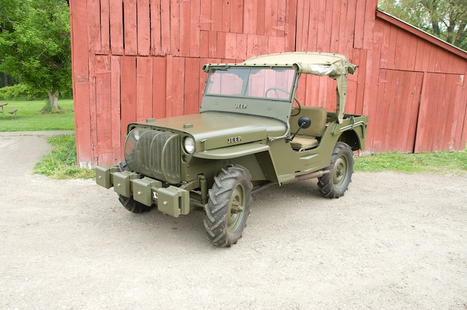 The Oldest Restored Civilian Jeep