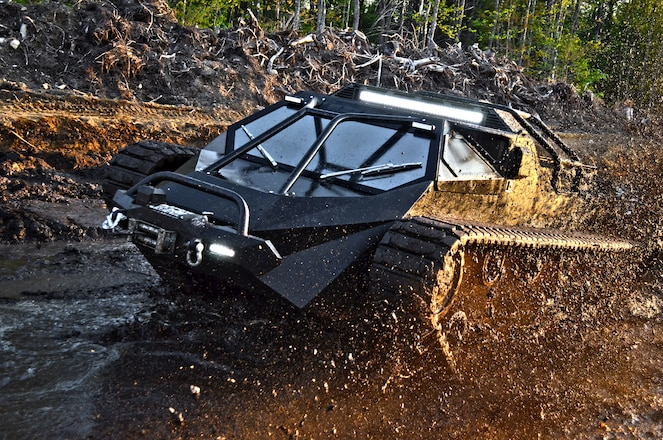 Is this Ripsaw EV2 Tank the baddest off-road vehicle ever?
