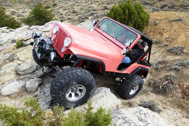 1978 Coral Jeep CJ-5 That Cannot Be Corralled