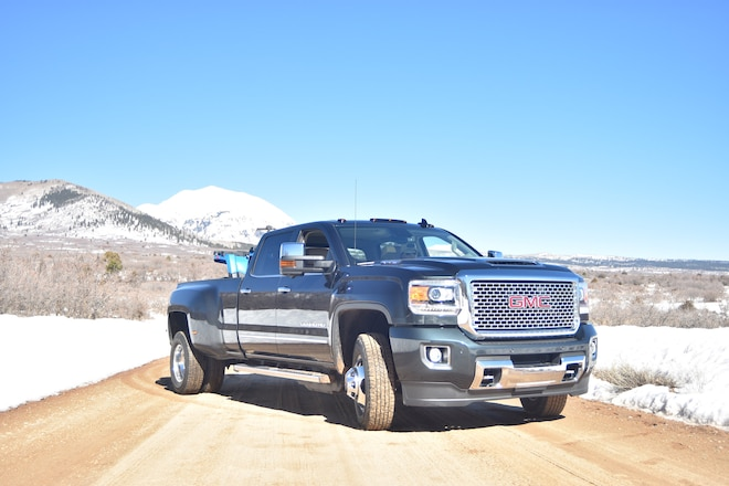 One In A Million: Playing With The 2017 GMC Sierra HD Denali Duramax Trucks