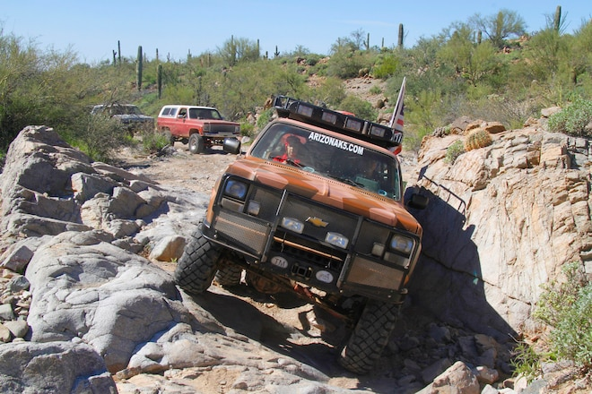 Birthday Bash: Running Rocks With The Arizona K5 Club