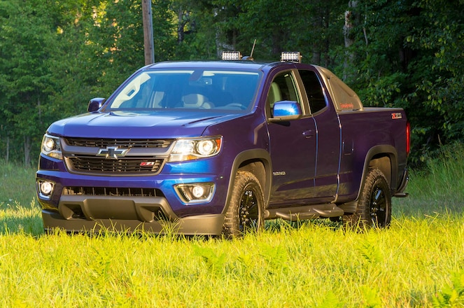 Exclusive First Drive: 2016 Chevrolet Colorado Z71 Trail Boss