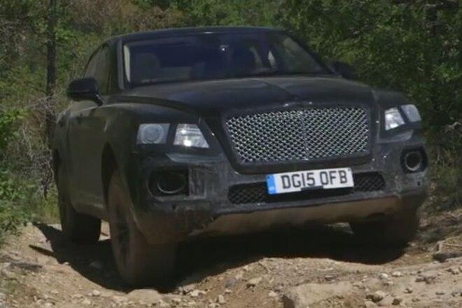 Bentley's New Bentayga SUV Can Wheel - Video