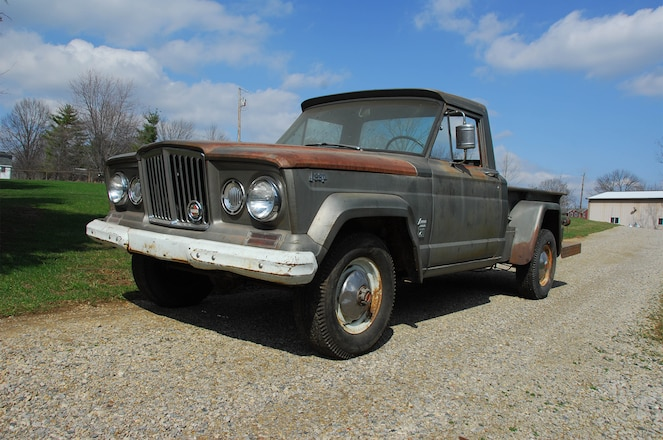 1965 Jeep Gladiator Barn Find