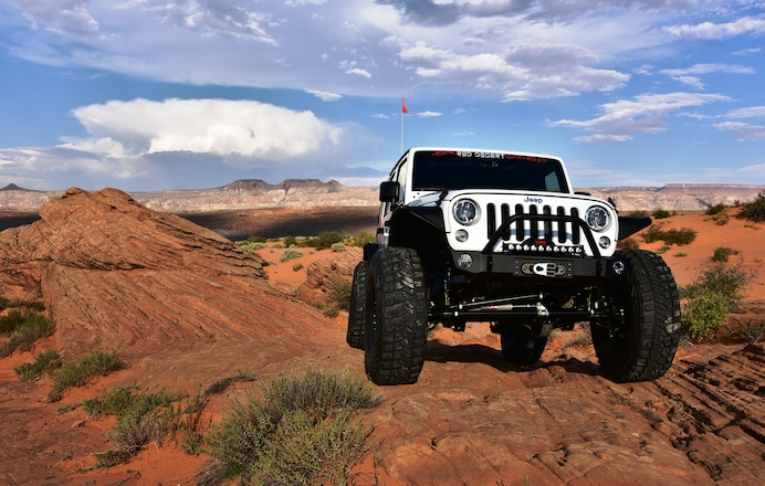 """This 2016 Jeep JK """"Unlimited"""" Was No Budget Build"""
