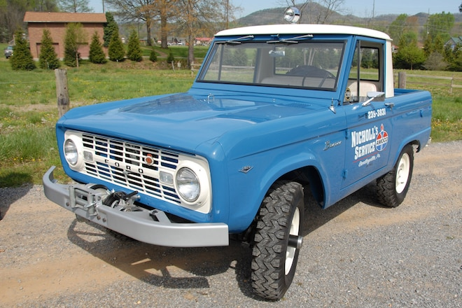 1967 Ford Bronco Sport/Utility Service Truck