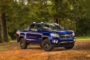 2016 Chevrolet Colorado Trail Boss Front Three quarters front three quarters 2