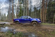 2016 Chevrolet Colorado Trail Boss in motion