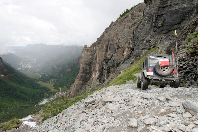 Sheriff Calls For Closure of Black Bear Pass After Latest Accident