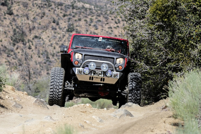 2011 Jeep JK Wrangler Steering and Axle Upgrades from Currie Enterprises