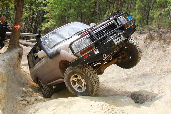 Toyotas Tackle Uwharrie: Crawling With The Olde North State Cruisers