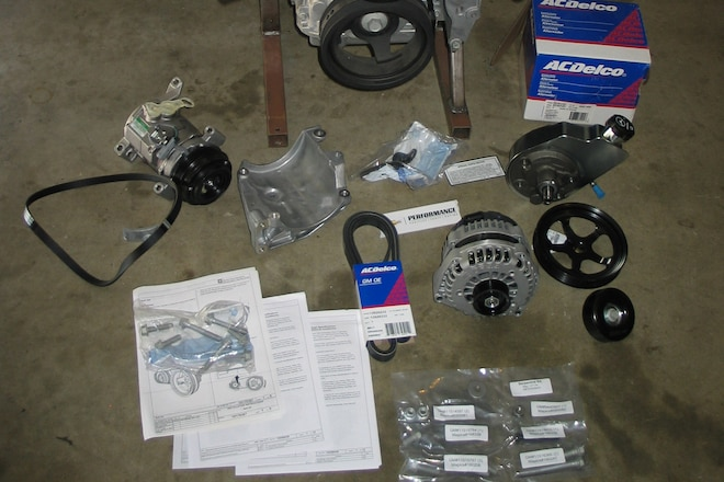 Front Engine Accessories for Any LS Engine Made Easy