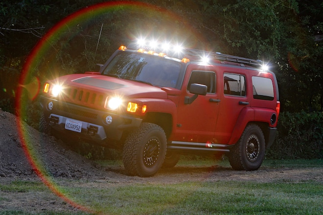 Firing Order: A K5, Night Wheeling, A Fence Post, And The Need For Good 4x4 Lighting