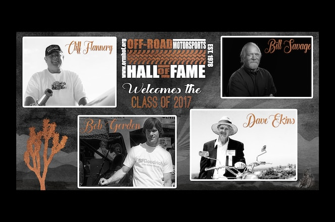 Off-Road Motorsports Hall of Fame 2017 Inductees Announced
